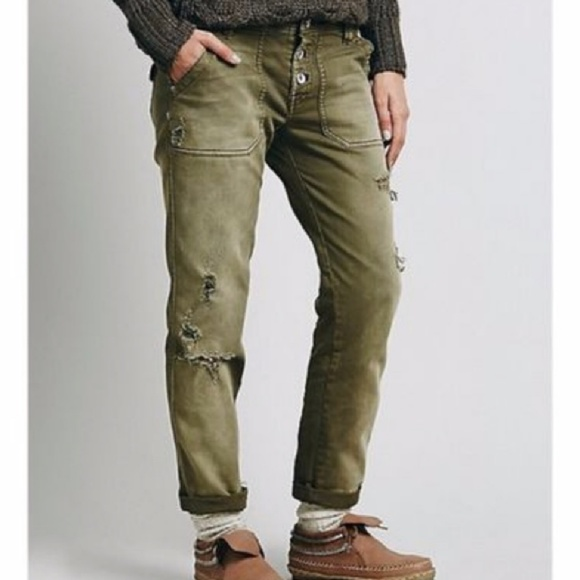 Free People Denim - Mountaineer Relaxed Jeans 4